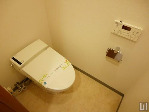 1LDK 55.38㎡タイプ - トイレ