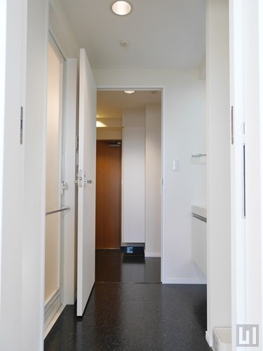 Hタイプ - 洗面室(玄関-洋室通り抜け可)