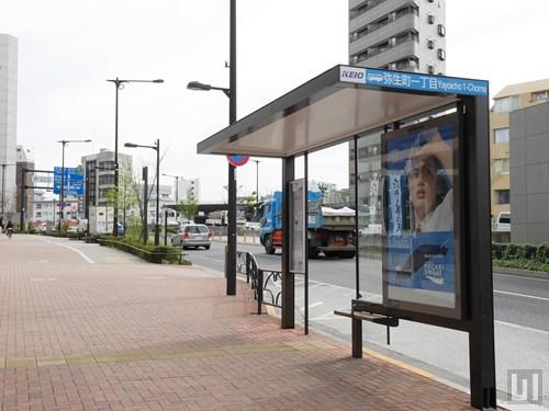 弥生町一丁目バス停