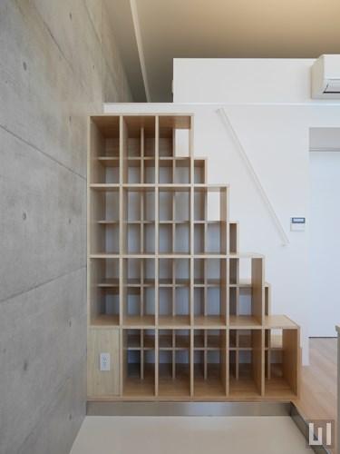Hタイプ - 階段・収納棚